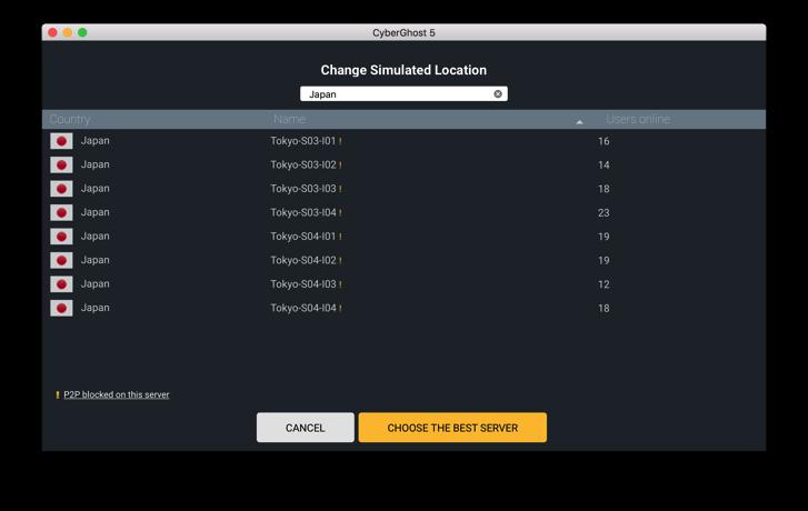 CyberGhostVPN-mac9