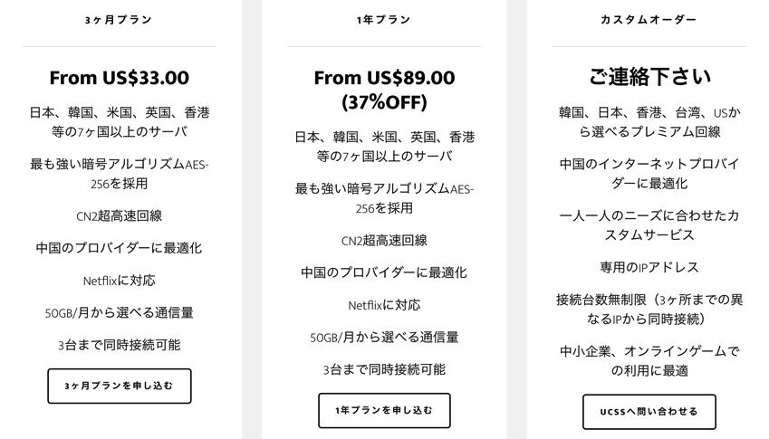 UCSS-price